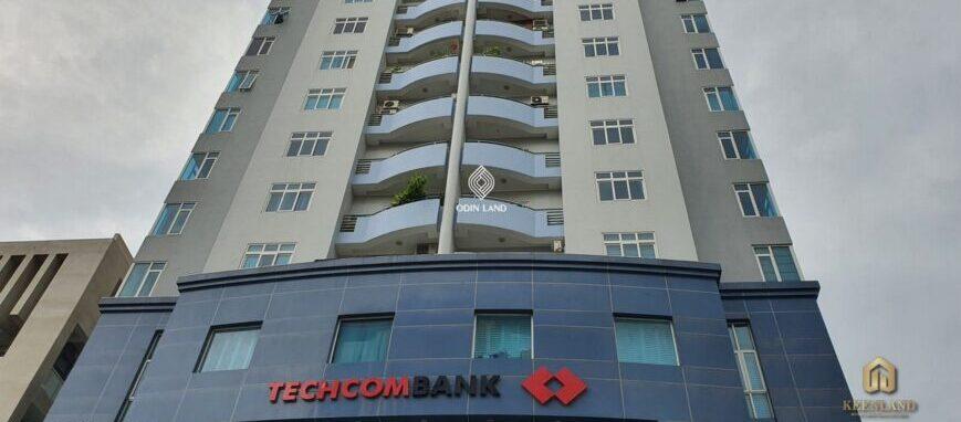 Ngân hàng Techcombank ngay tầng trệt - Tiện ích nội khu dự án Sông Đà Tower