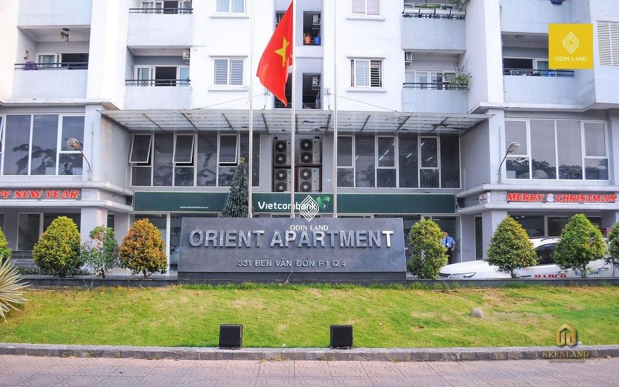 Ngân hàng Vietcombank - Tiện ích nội khu dự án chung cư Orient Department