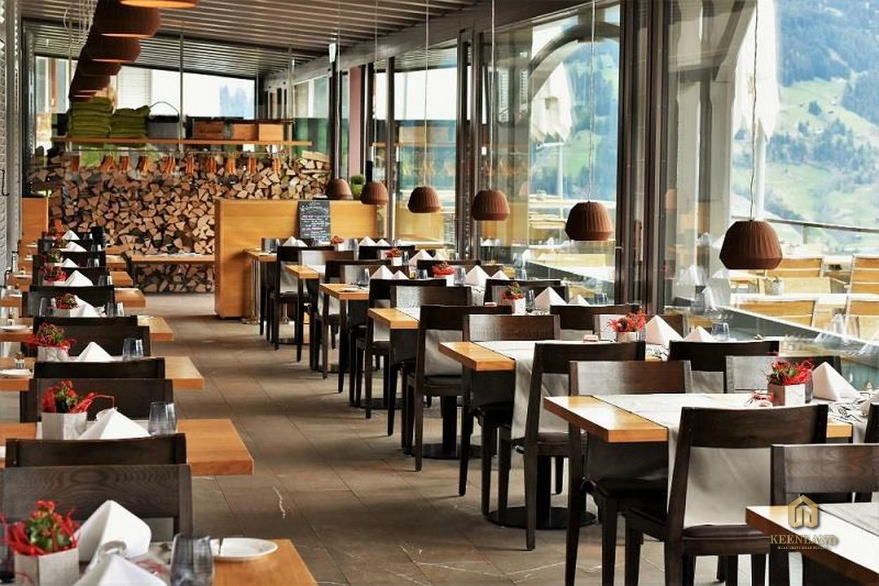 Nhà hàng sang trọng - Tiện ích nội khu dự án New Pearl Residence Quận 3