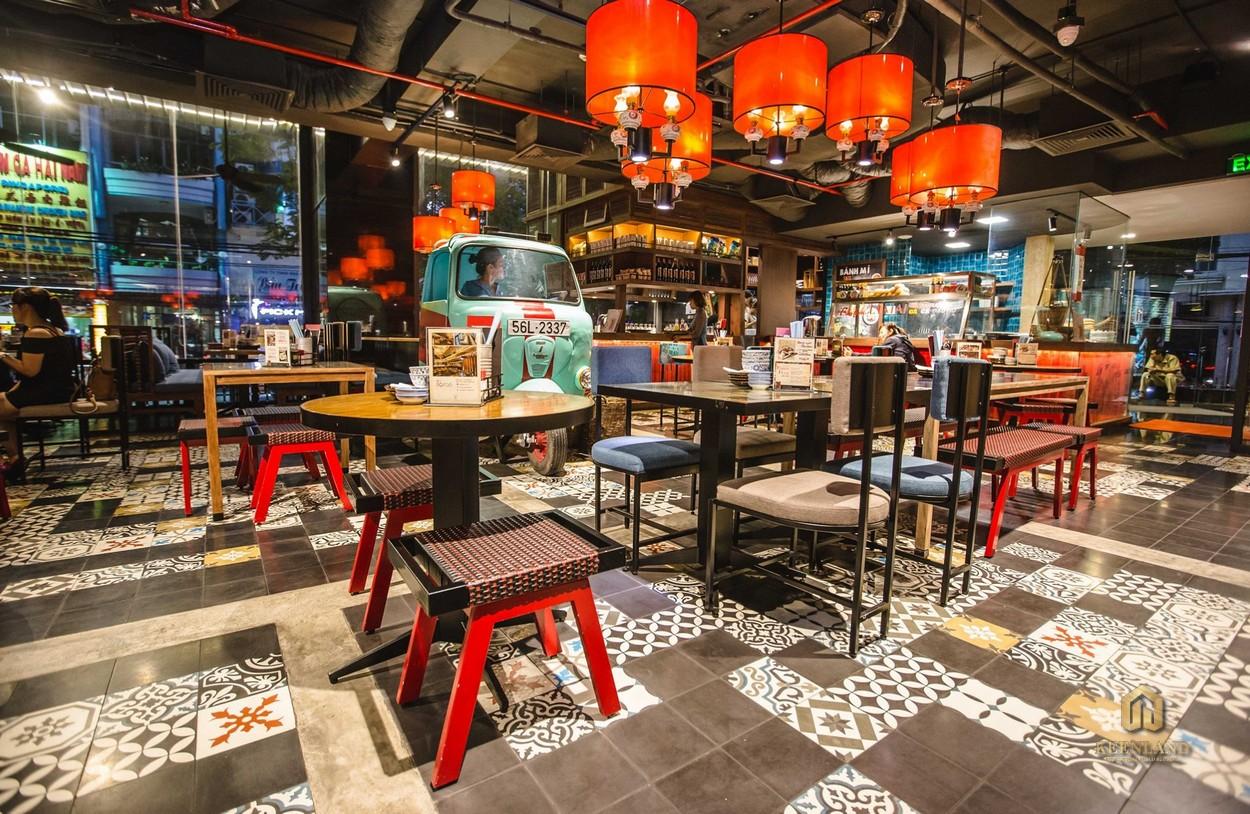Nhà hàng tại dự án The One Saigon
