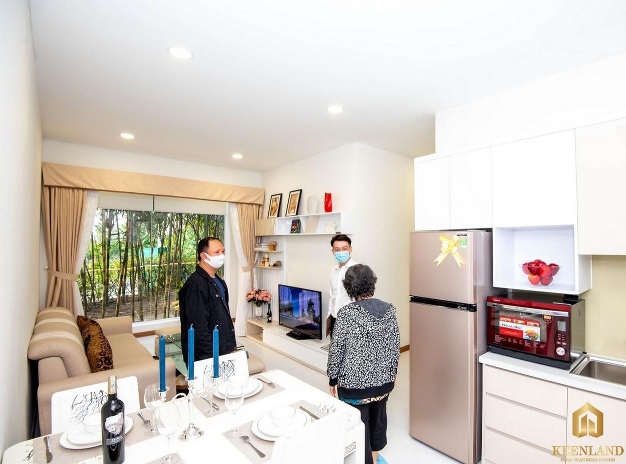 Nội thất dự án Dream Home Riverside