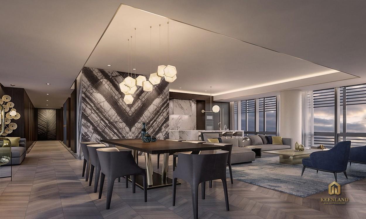 Nội thất căn hộ mẫu The Vertex Private Residence