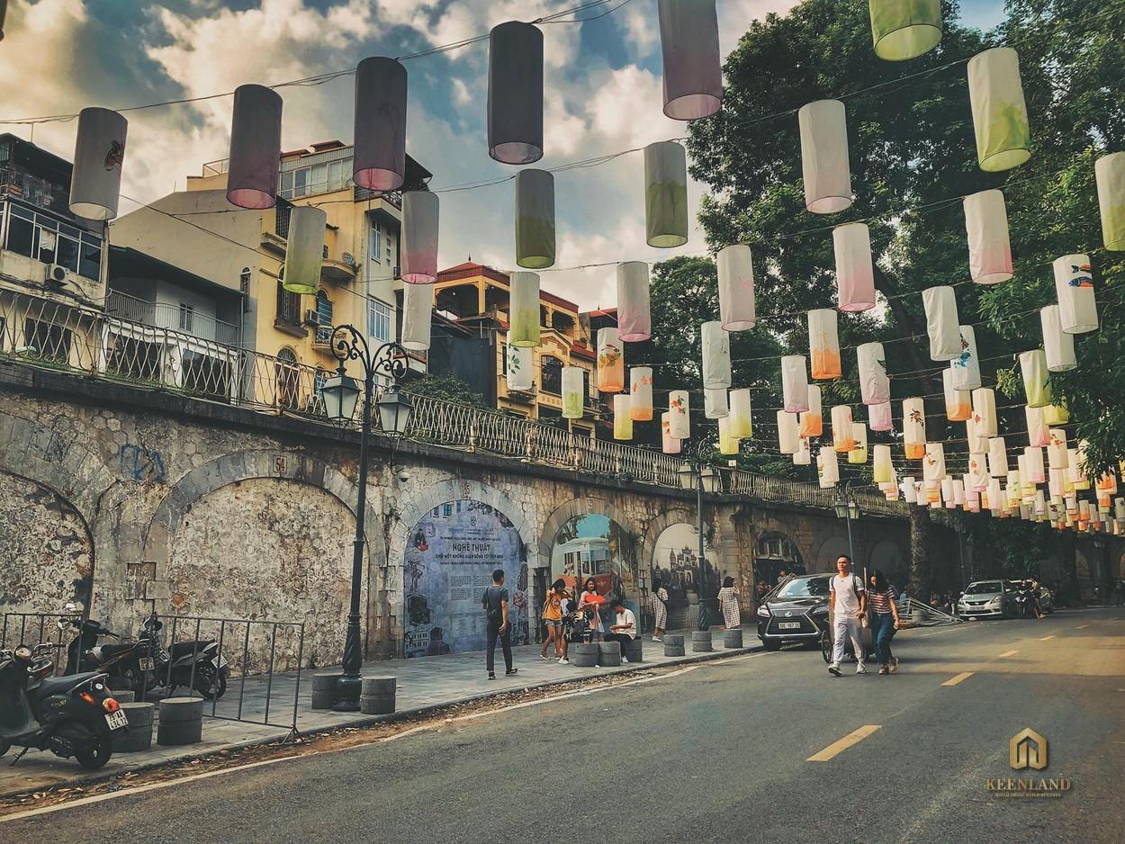 Phố Bích Họa - Tiện ích ngoại khu dự án chung cư Copac Square Quận 4