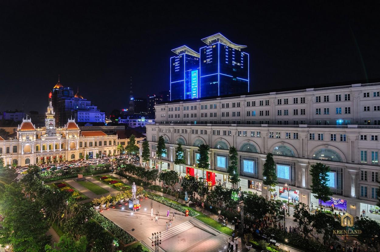 Phố đi bộ Nguyễn Huệ - Tiện ích ngoại khu dự án chung cư Copac Square Quận 4