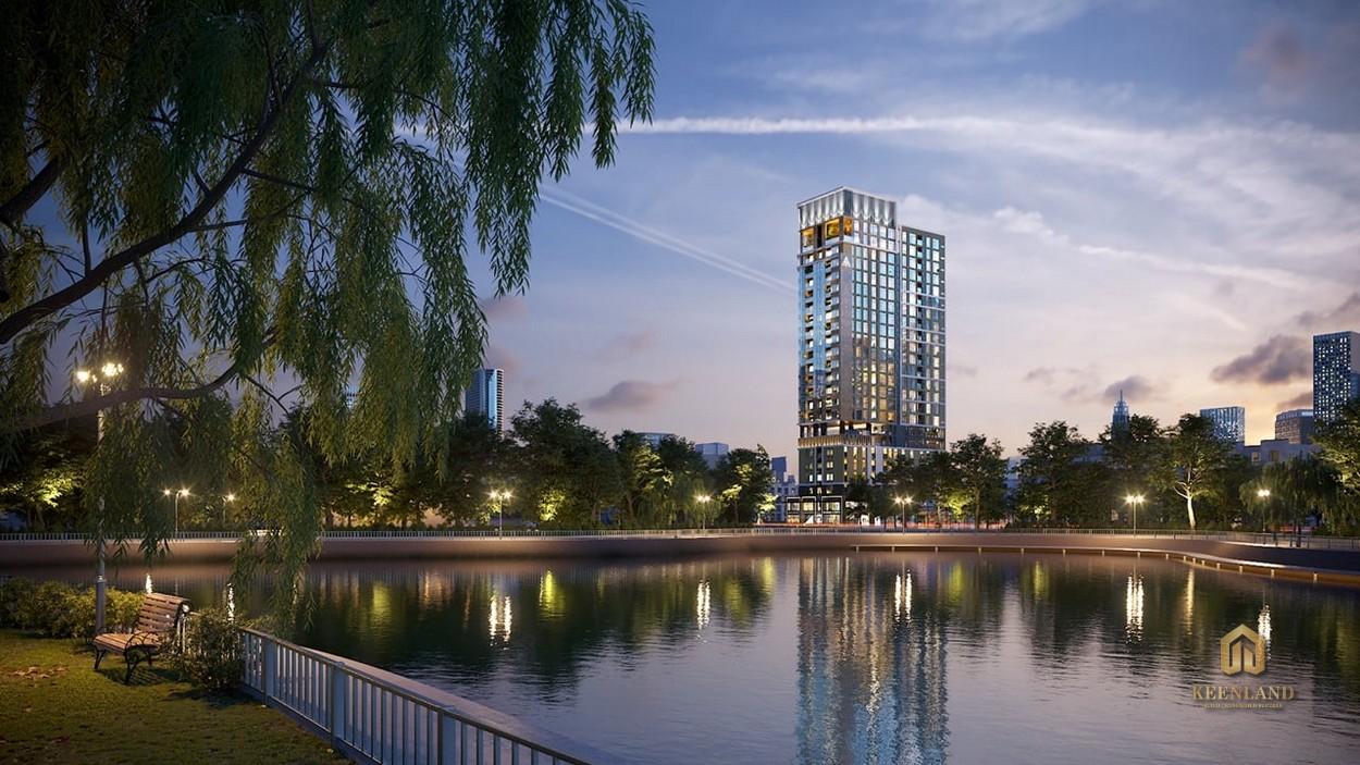 Phối cảnh dự án 245 Hoàng Văn Thụ