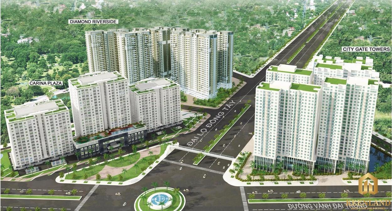 Phối cảnh dự án Carina Plaza