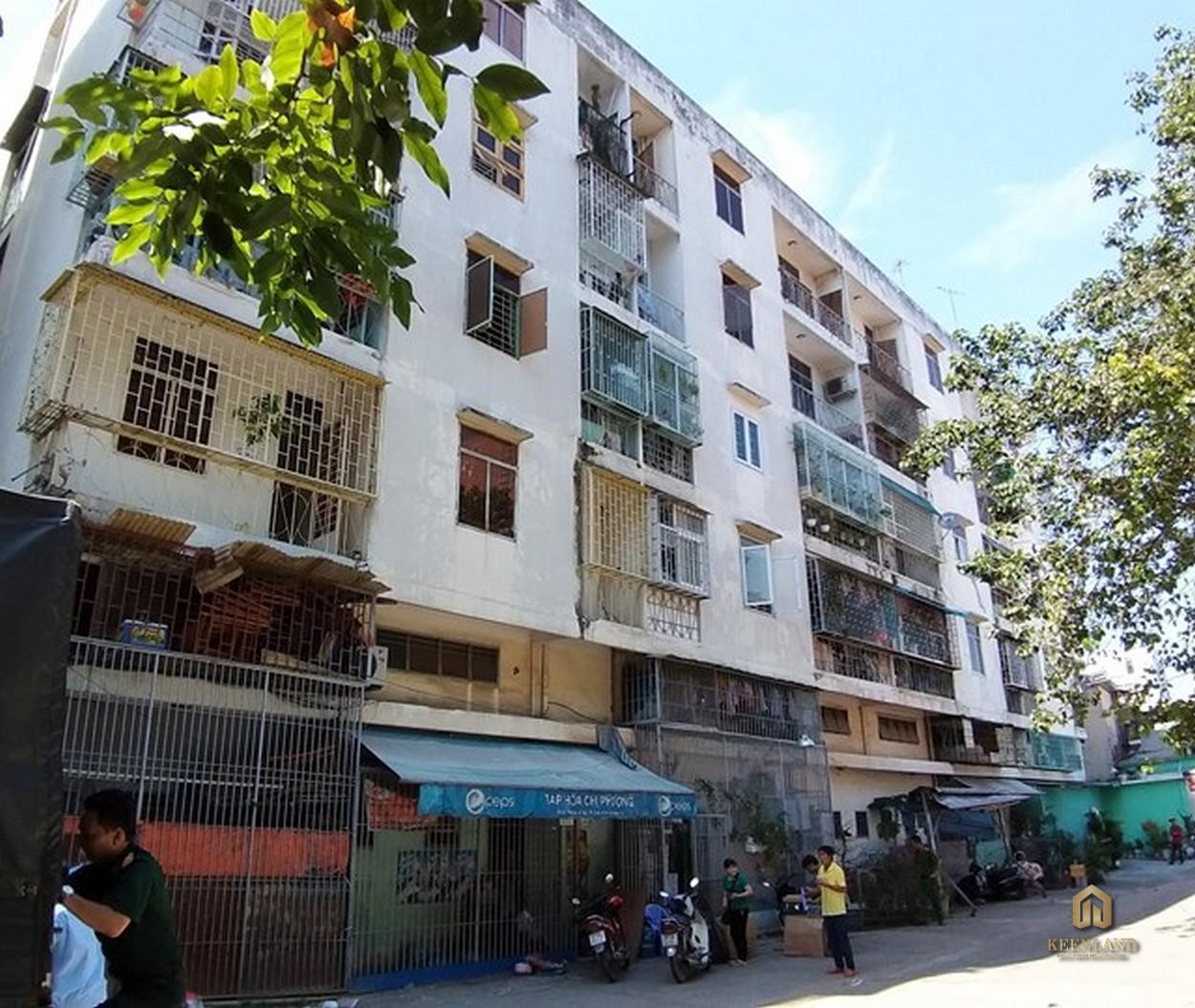 Phối cảnh dự án 518 Võ Văn Kiệt Quận 1