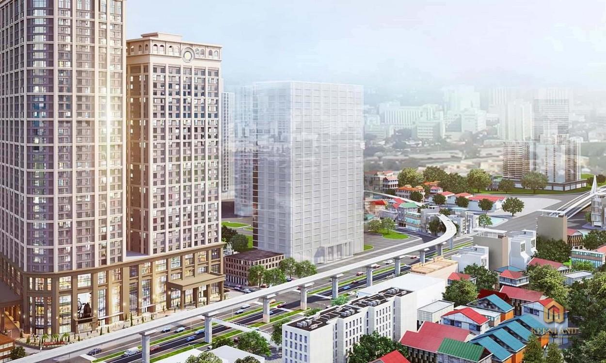 Phối cảnh dự án căn hộ Ascott Waterfront Saigon