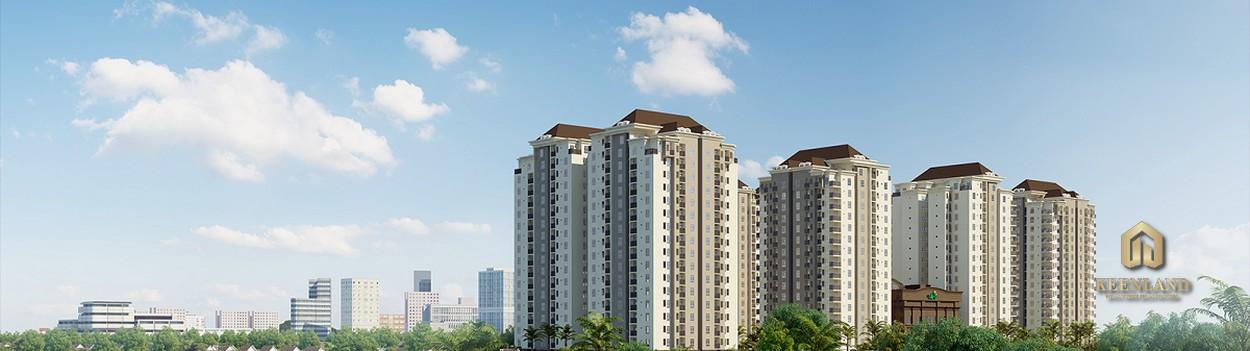 Phối cảnh dự án căn hộ cao ốc Nguyễn Phúc Nguyên