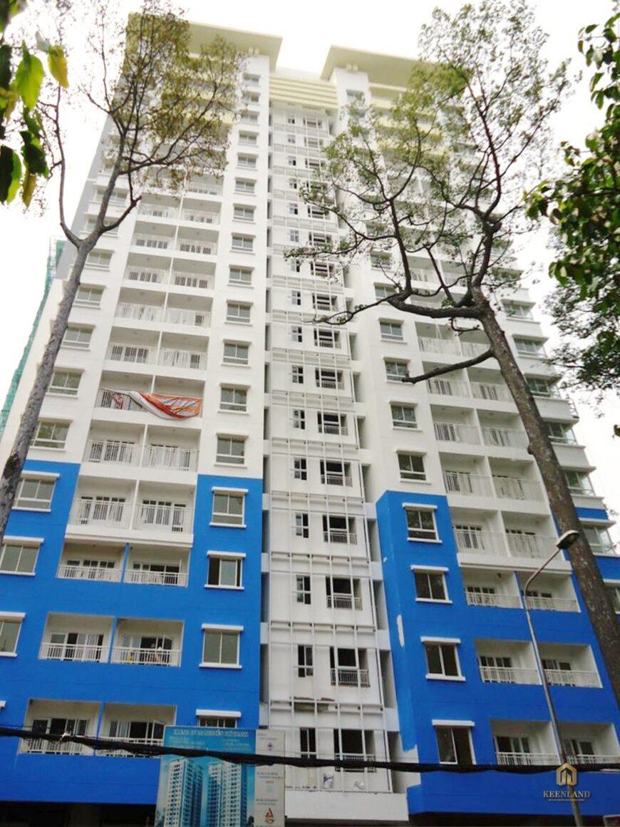 Tổng thể dự án chung cư 155 Nguyễn Chí Thanh