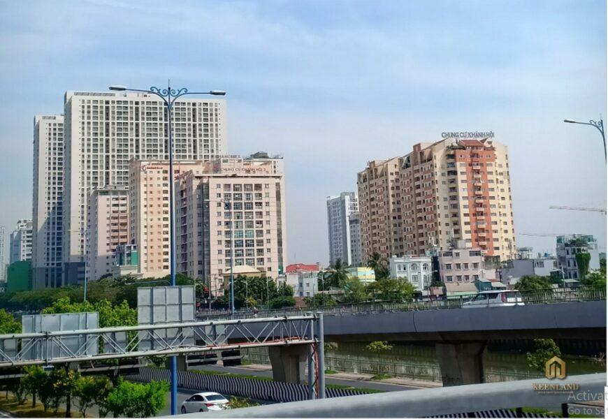 Phối cảnh dự án chung cư Khánh Hội 1