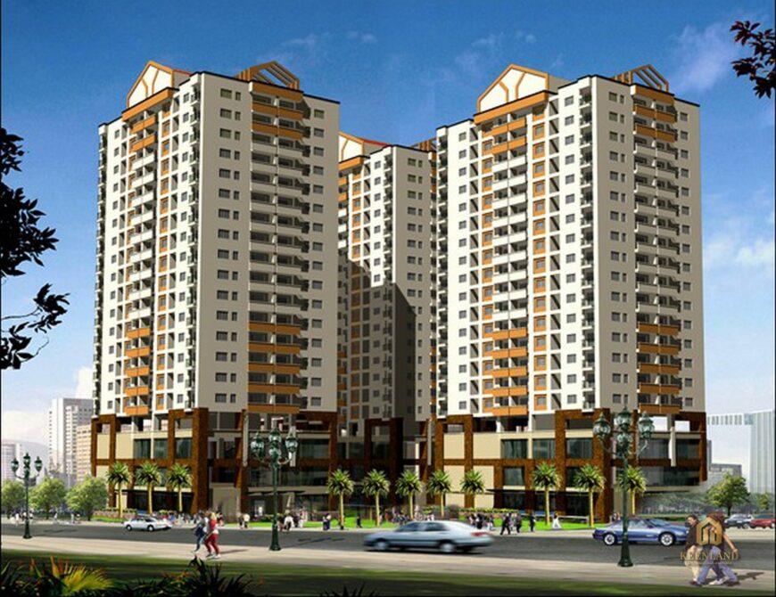 Phối cảnh dự án chung cư Khánh Hội 2