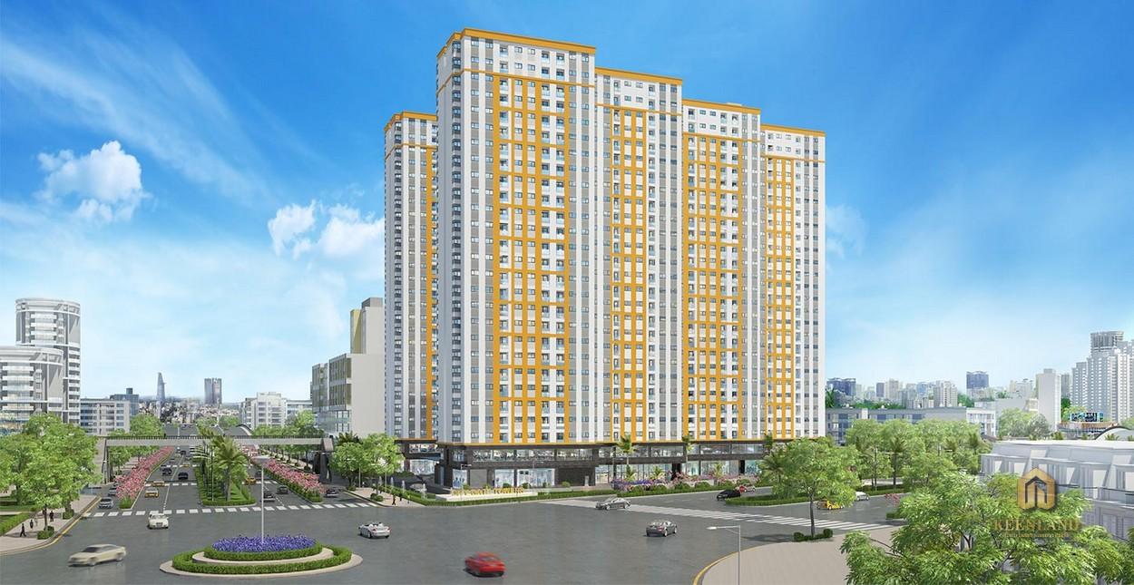 Phối cảnh dự án City Gate Towers