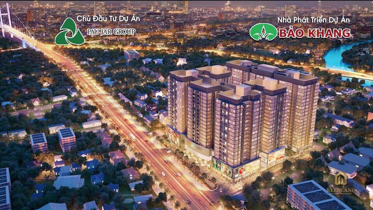 Phối cảnh dự án căn hộ Cosmo City 2 Quận 7