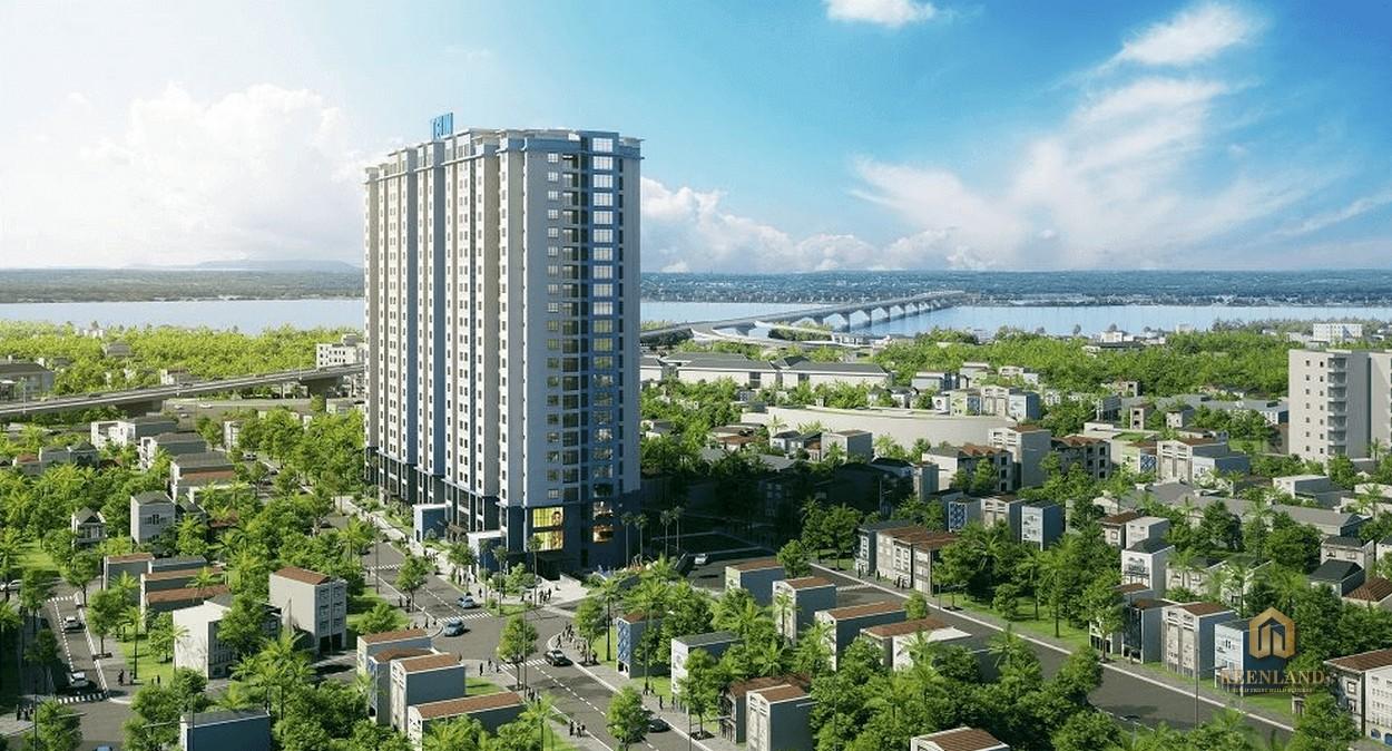 Phối cảnh dự án Đà Nẵng Plaza