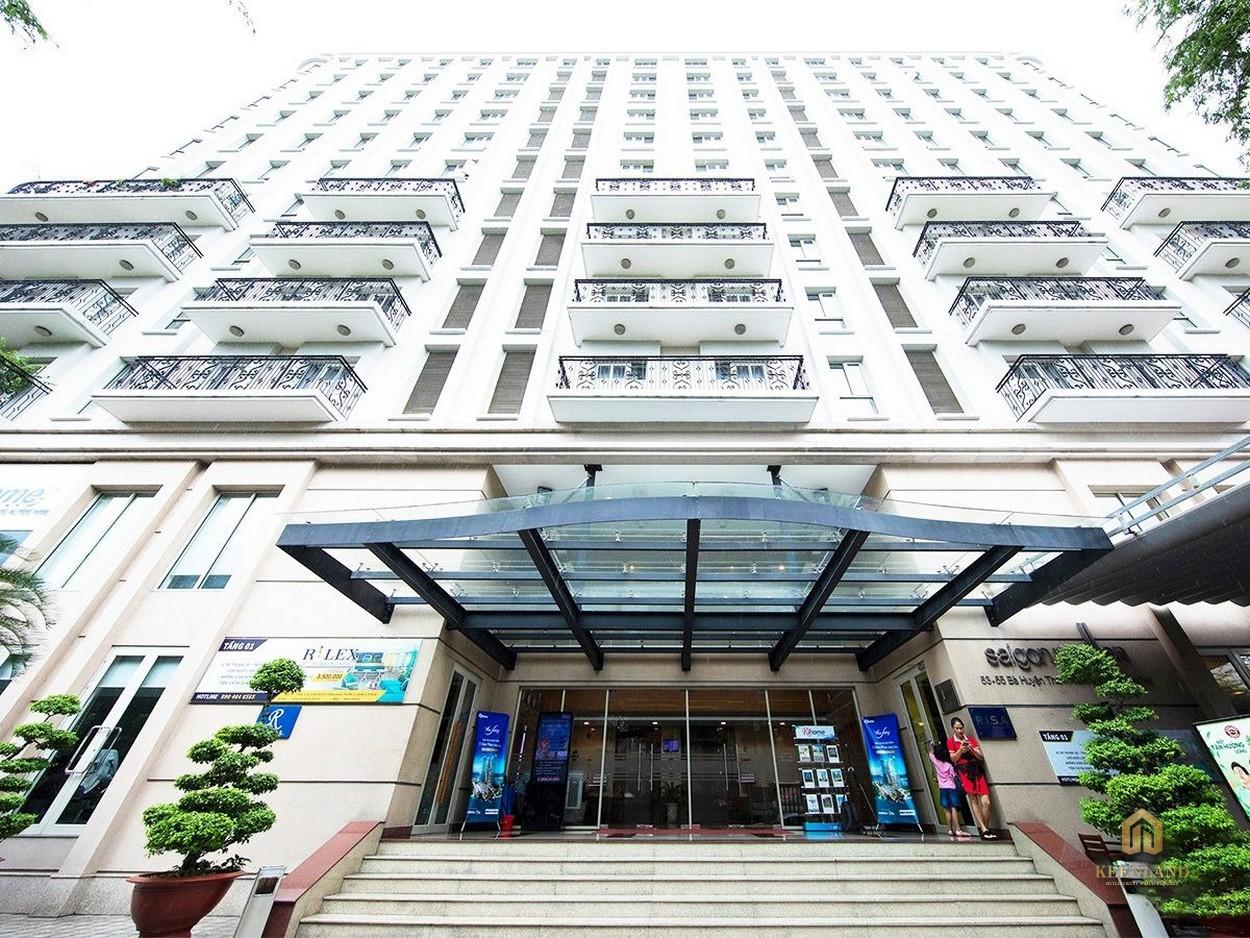 Cận cảnh mặt tiền dự án Saigon Pavillon