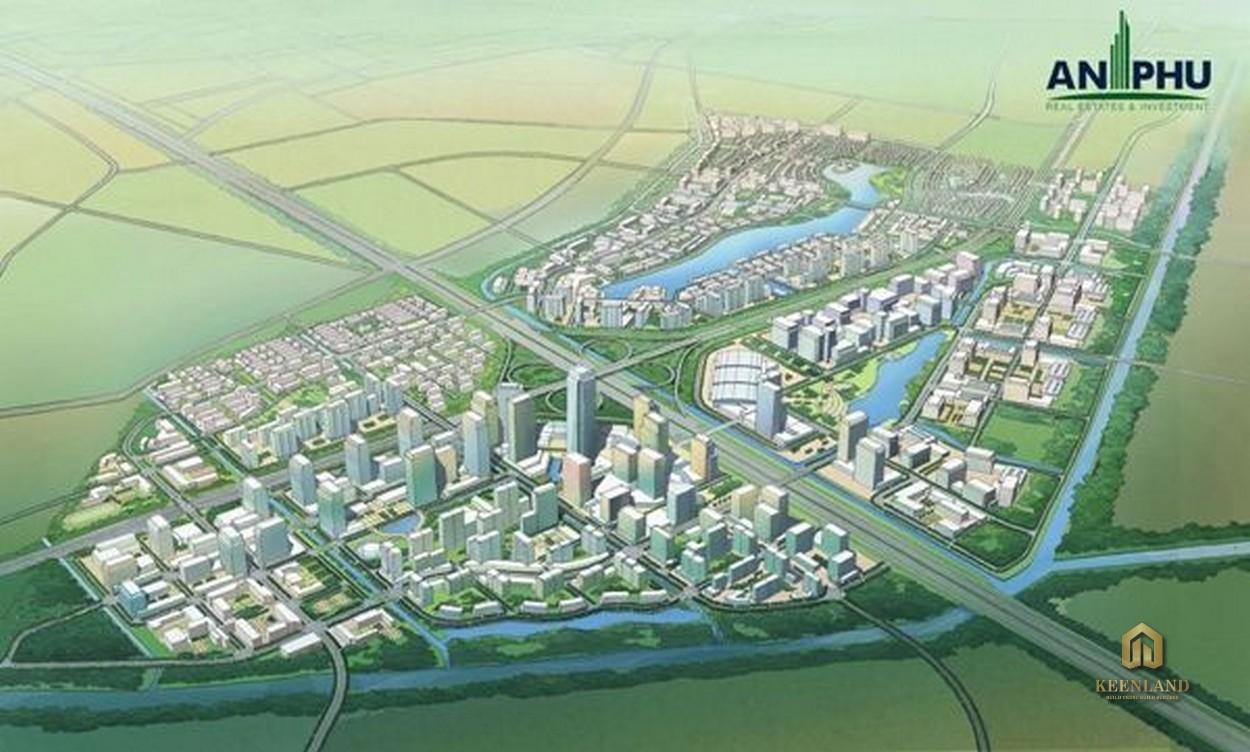 Phối cảnh khu đô thị An Phú Hưng