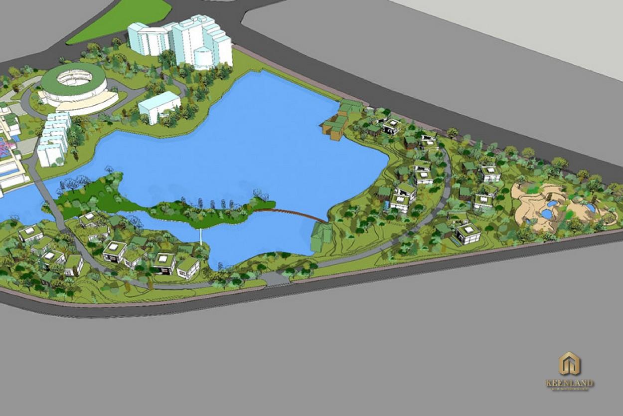 Phối cảnh dự án Khu đô thị sinh thái Cầu Đôi
