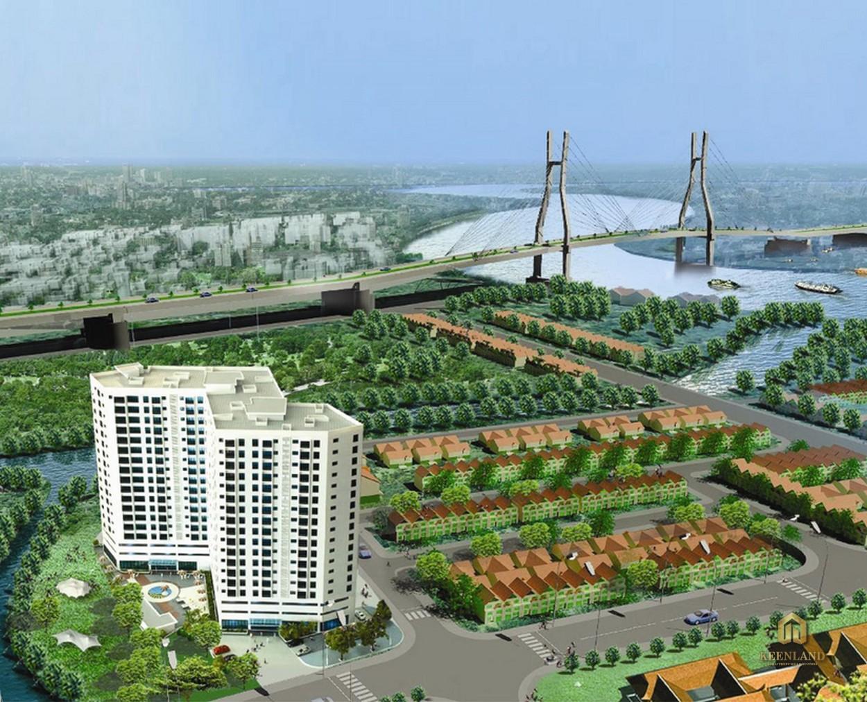 Phối cảnh dự án Ngọc Lan Apartment Quận 7