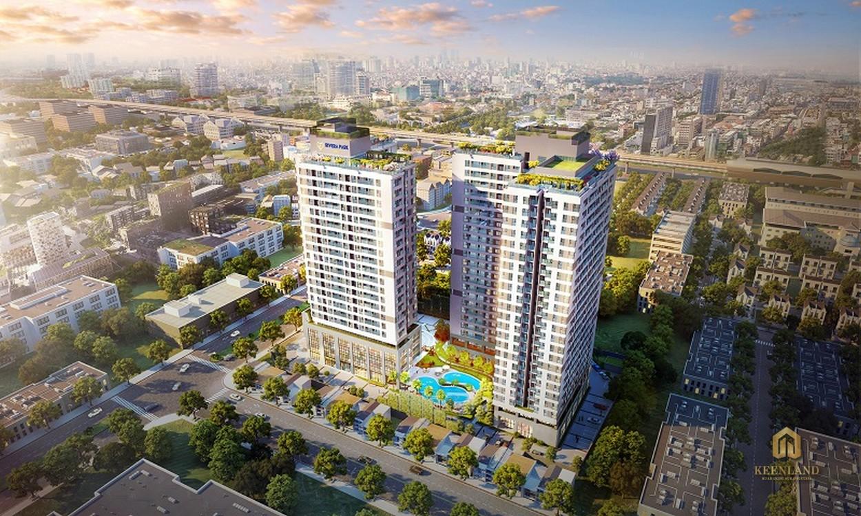 Phối cảnh dự án River Park Hà Nội