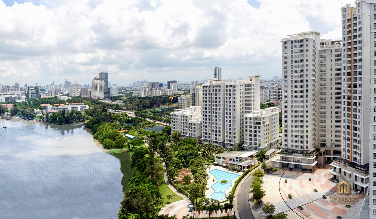 Phối cảnh dự án Riverside Residence