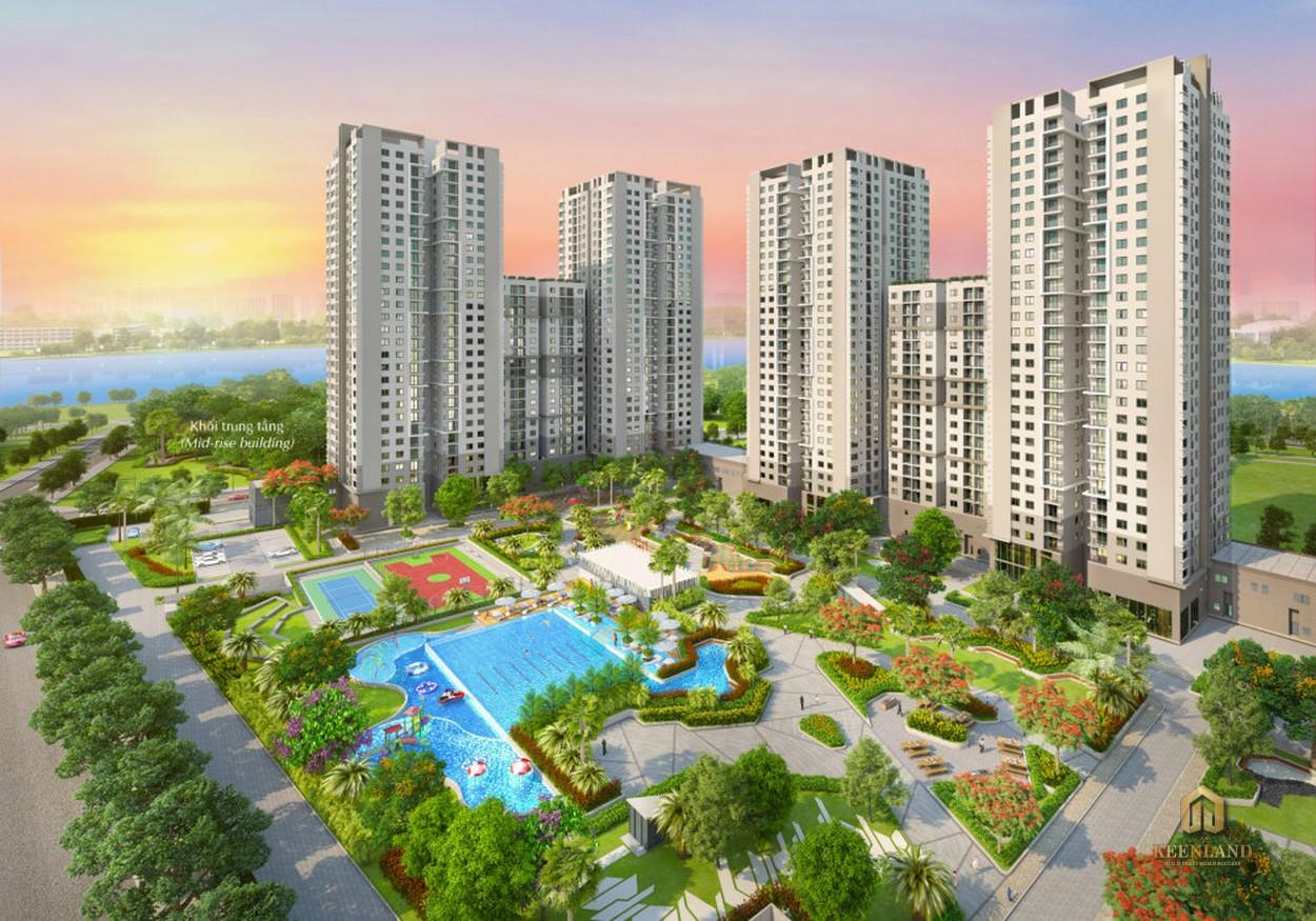 Phối cảnh dự án Saigon South Residence