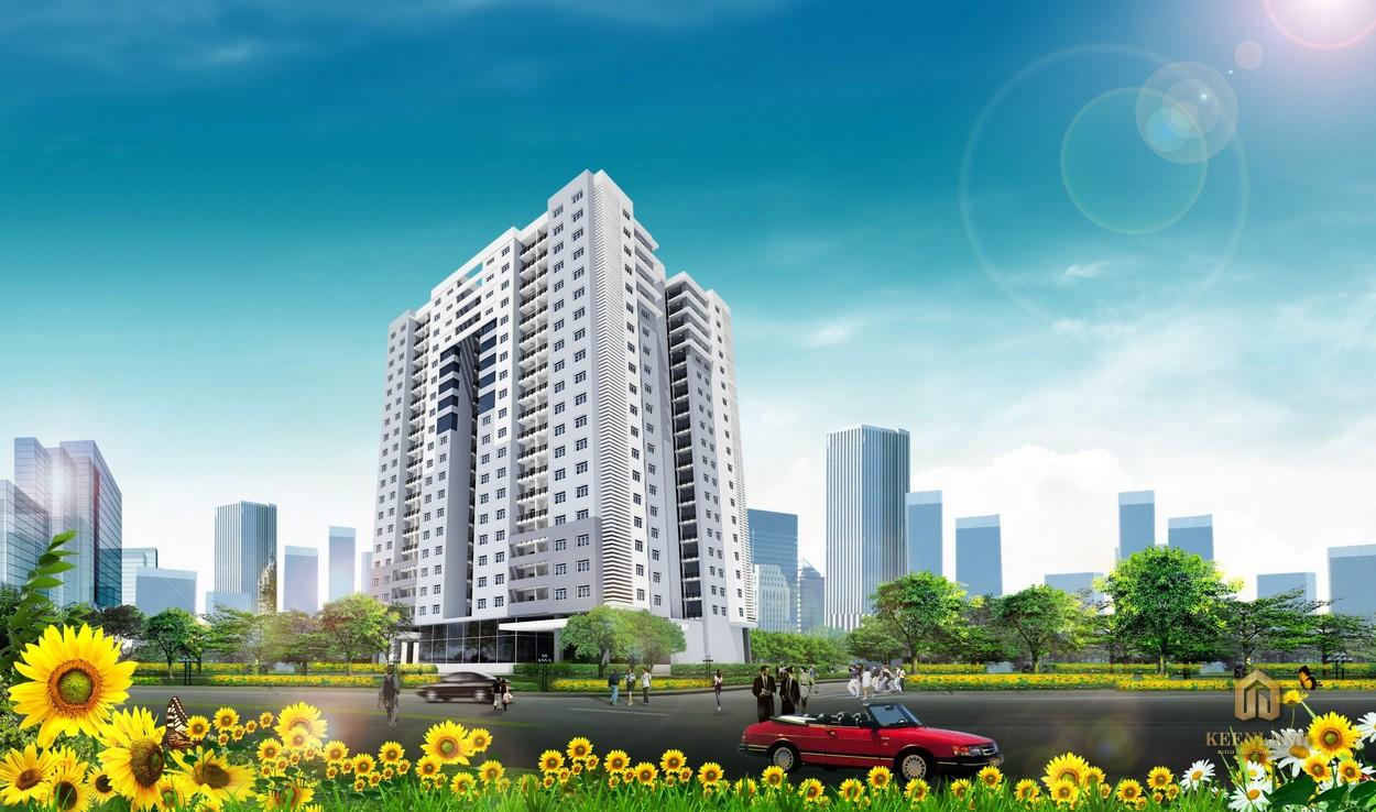 Phối cảnh dự án Tân Hương Tower