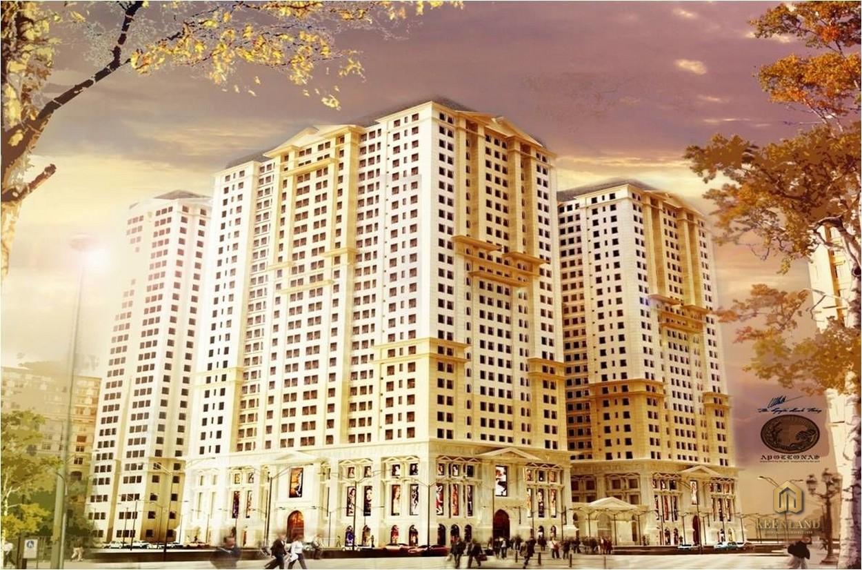 Phối cảnh dự án  Tân Phước Plaza
