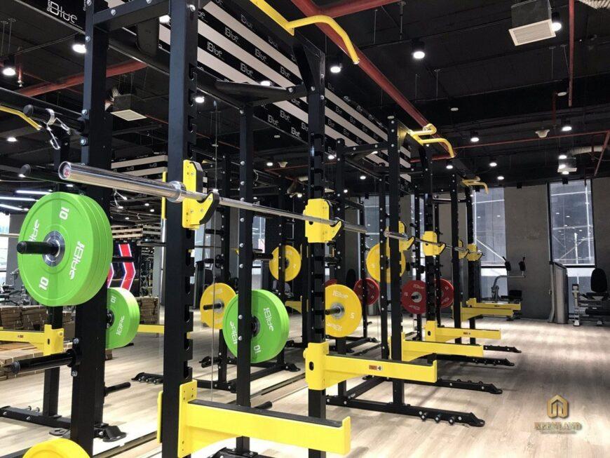 Phòng gym hiện đại - Tiện ích nội khu dự án chung cư Vạn Đô Quận 4