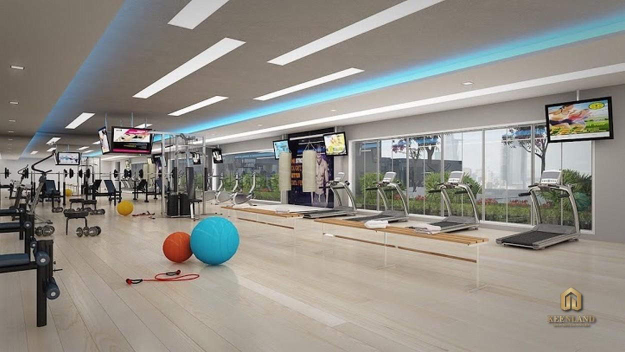 Phòng gym - Tiện ích nội khu dự án The Gold View Quận 4