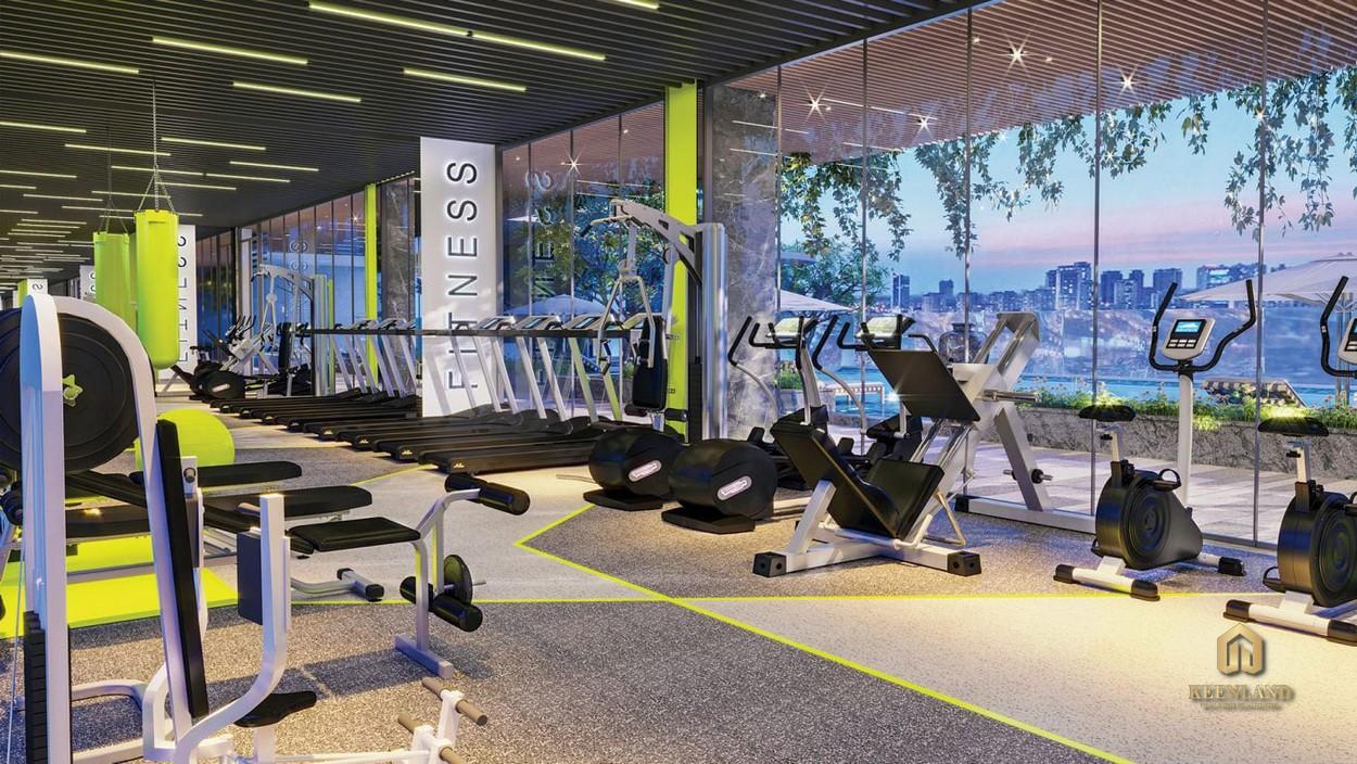 Phòng gym tại dự án Urban Hill Phú Mỹ Hưng Quận 7