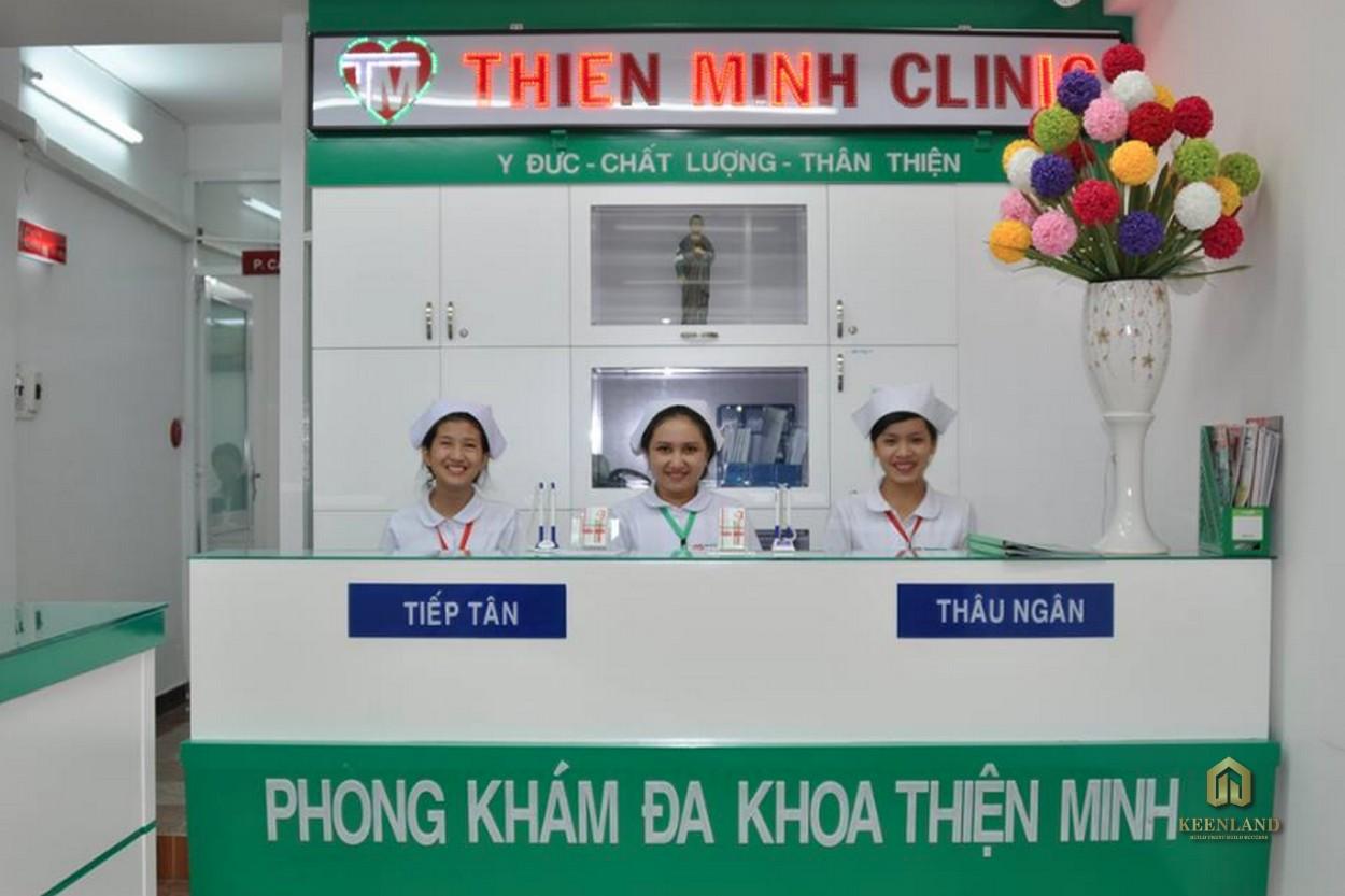 Phòng khám đa khoa - Tiện ích nội khu dự án chung cư H1 Hoàng Diệu