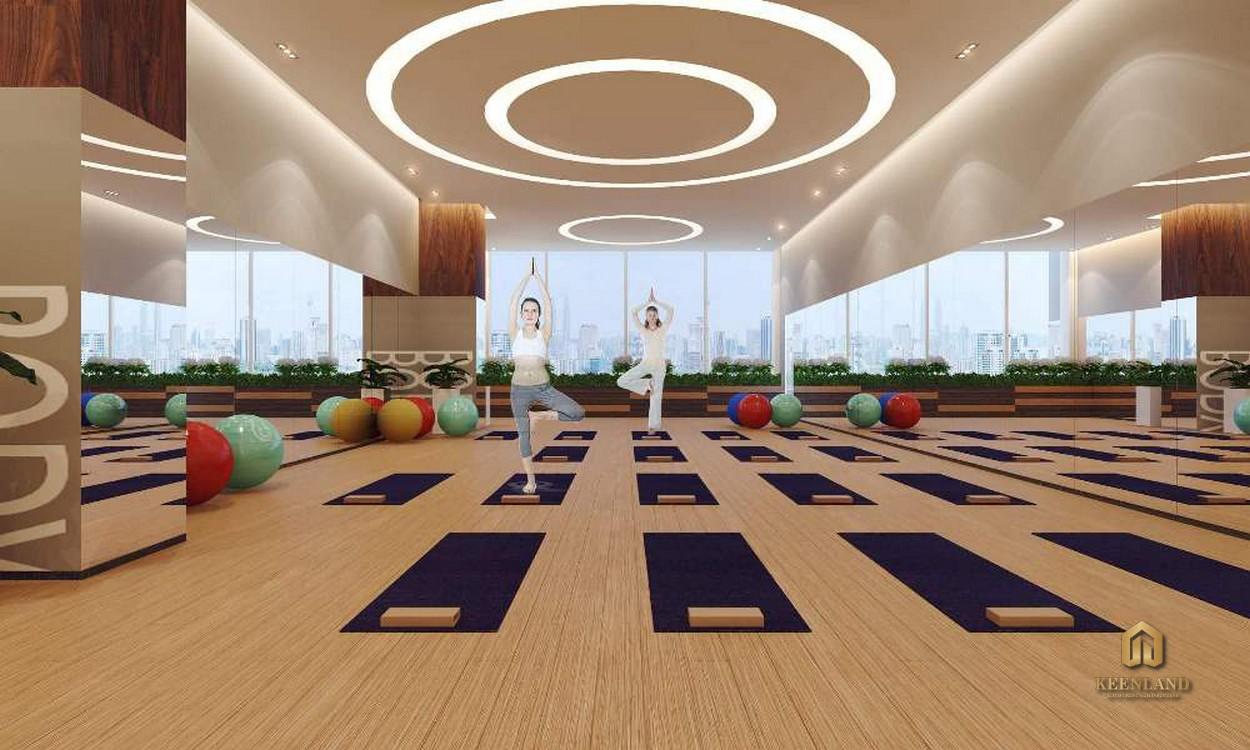 Phòng tập yoga - Tiện ích nội khu dự án Starlight Riverside Quận 6