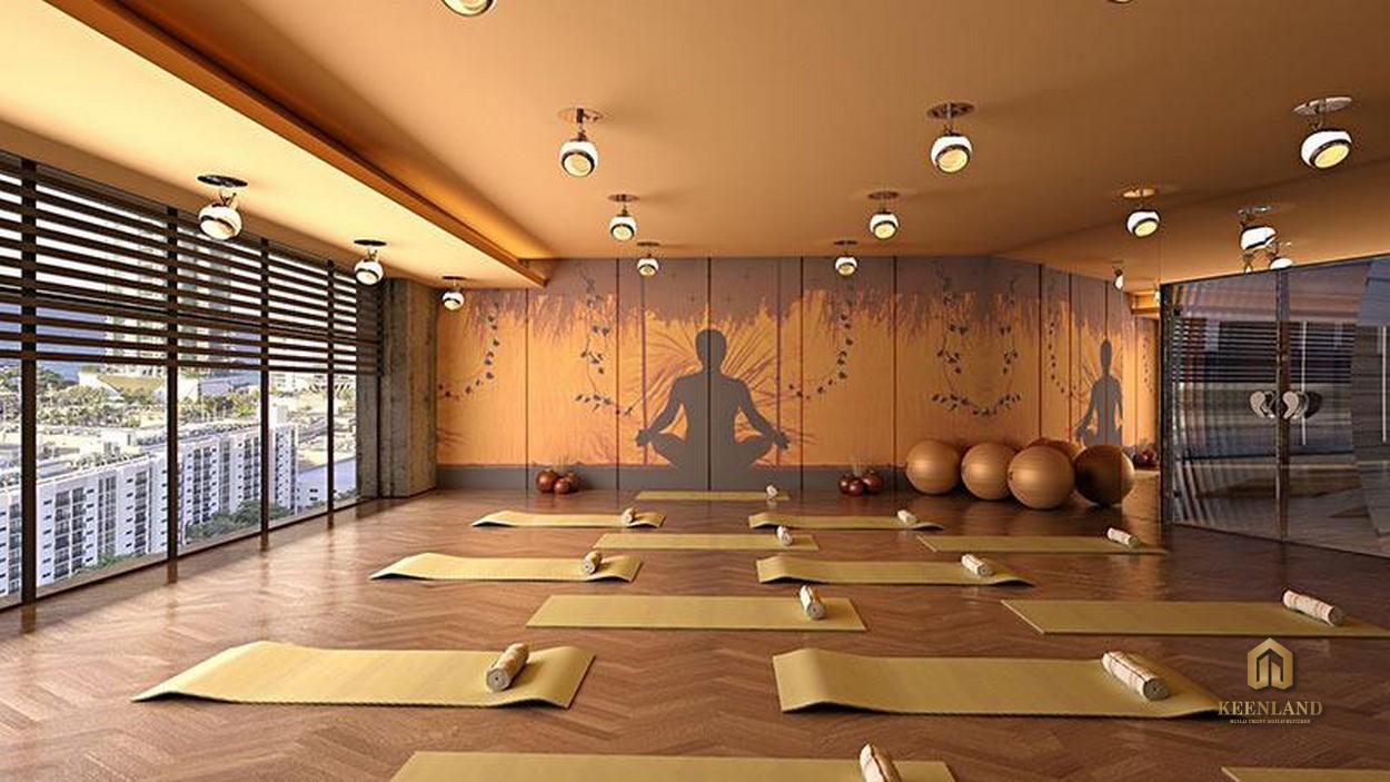 Phòng tập yoga - Tiện ích nội khu dự án The Nexus