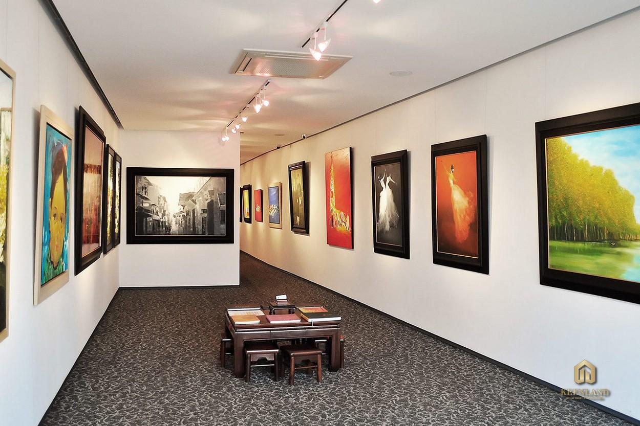 Phòng tranh triển lãm các tác phẩm hội họa - Tiện ích nội khu dự án C.T Plaza Minh Châu Quận 3