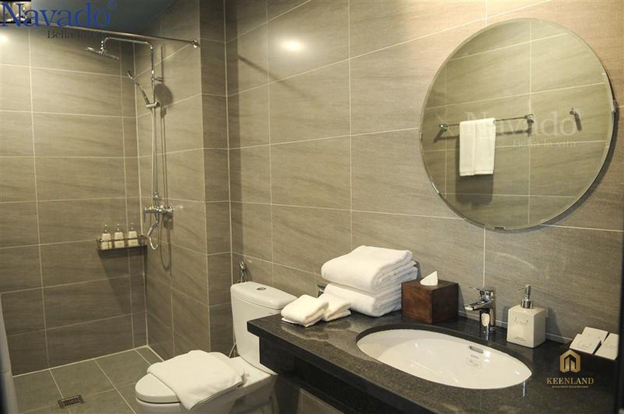 Thiết kế phòng WC căn hộ mẫu The Nexus