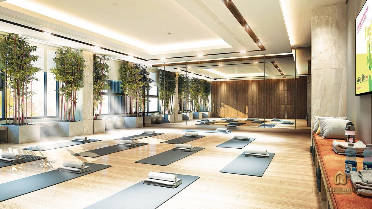 Yoga tại dự án Mỹ Phú Quận 7