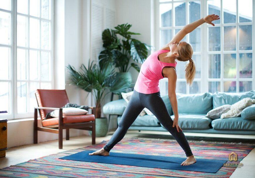Phòng tập Yoga cao cấp - Tiện ích nội khu dự án chung cư Vạn Đô Quận 4