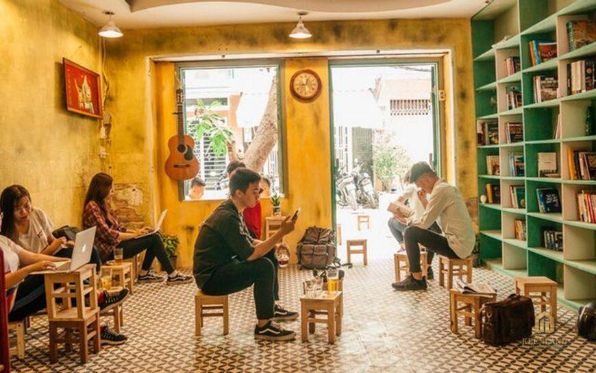 Quán Cafe tại dự án chung cư Khánh Hội 1