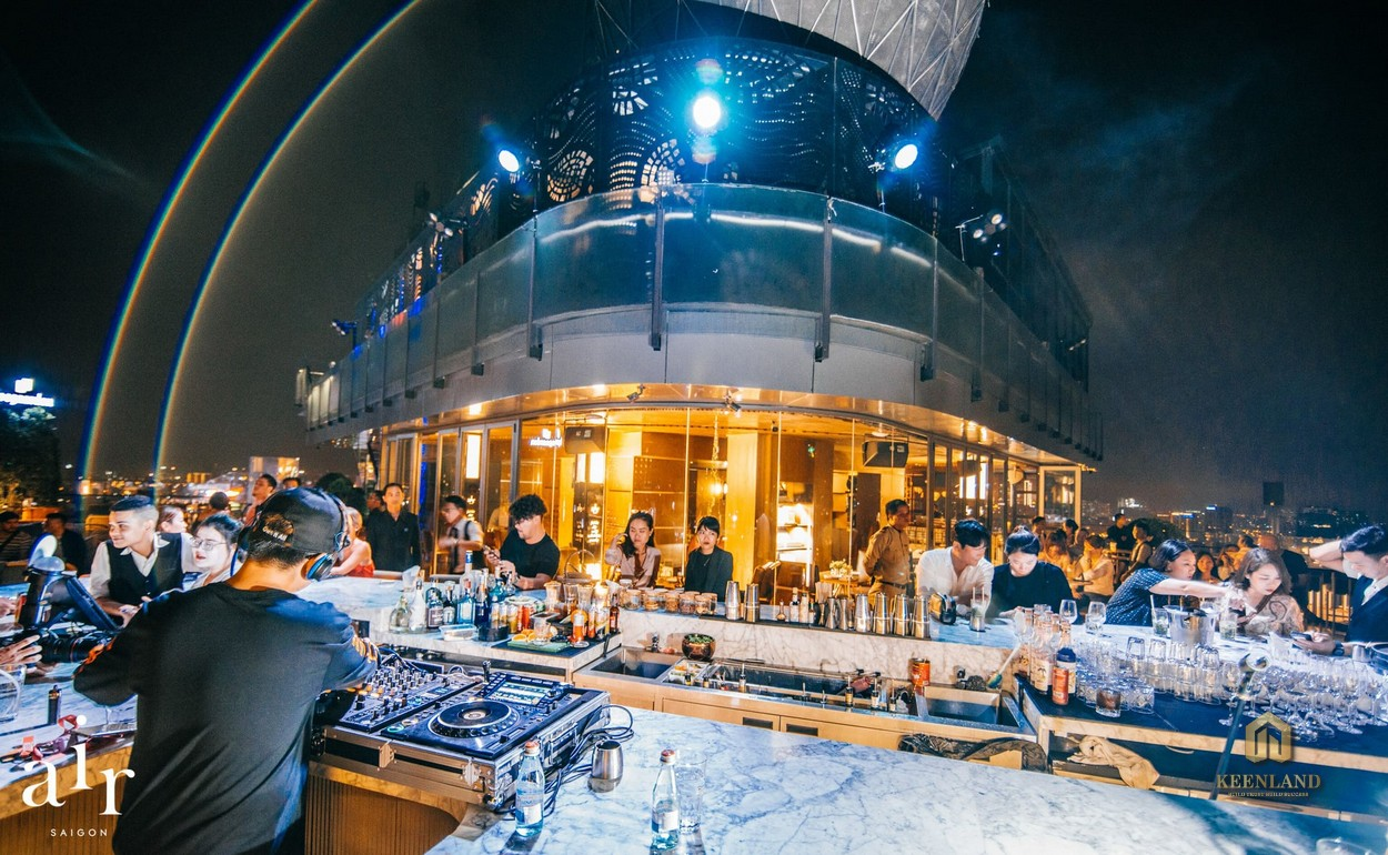 Quầy bar tại dự án The One Saigon