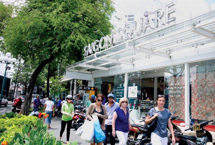 Khu mua sắm Saigon Square