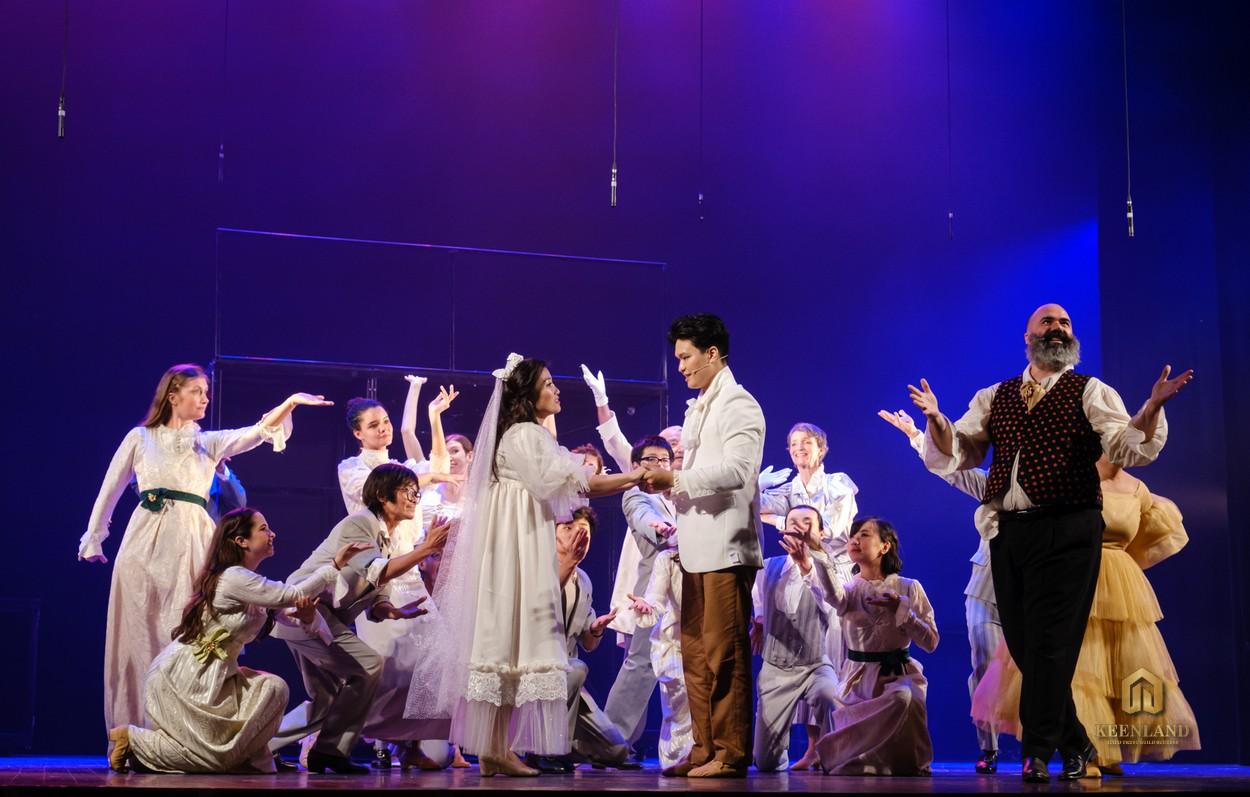 Sân khấu nhạc kịch - Tiện ích nội khu dự án C.T Plaza Minh Châu Quận 3