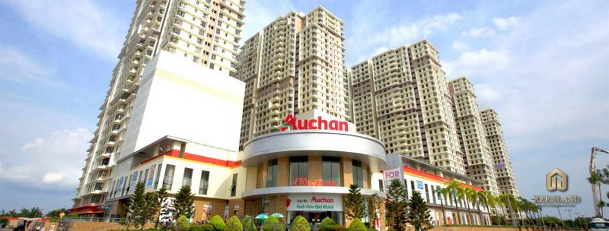 Siêu thị Auchan tại dự án The Era Town Quận 7