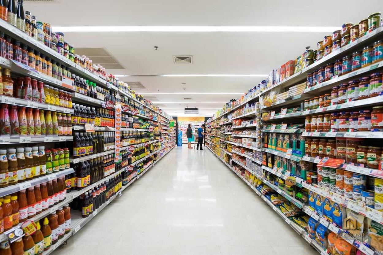Siêu thị mua sắm đầy đủ mọi hàng hóa - Tiện ích nội khu dự án C.T Plaza Minh Châu Quận 3