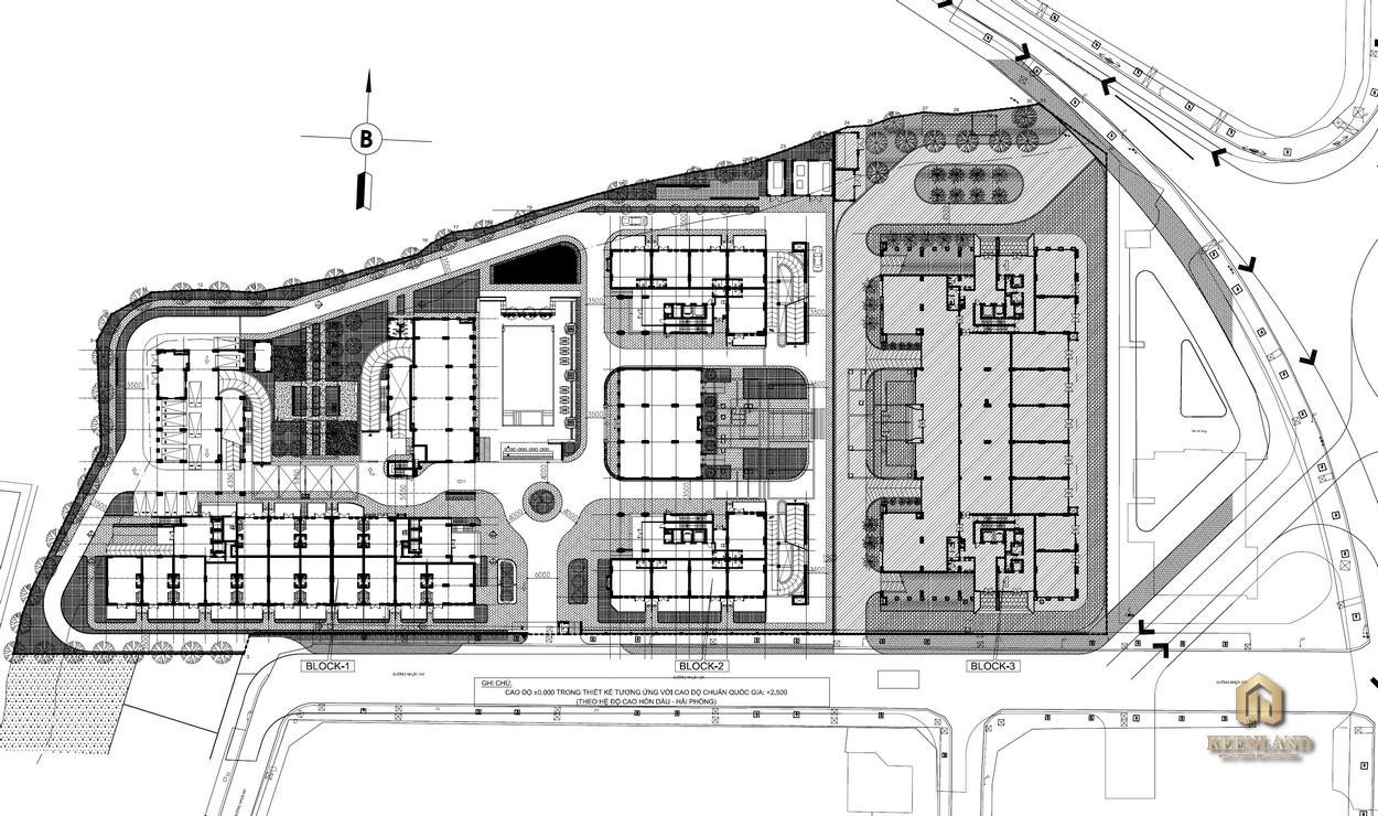 Sơ đồ kỹ thuật 3 khối dự án Sky 9 Quận 9