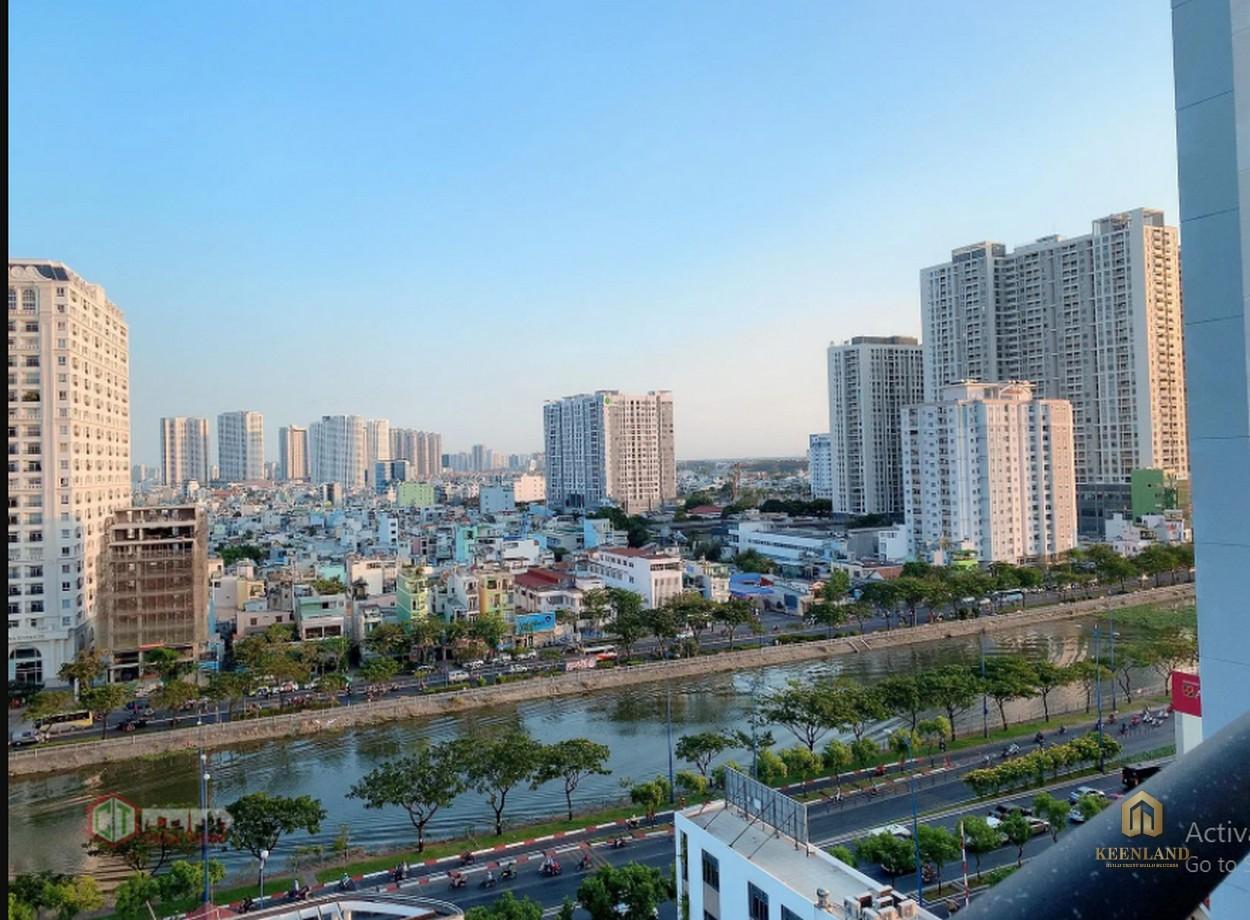 Tầm nhìn toàn cảnh từ căn hộ chung cư Thế Hệ Mới