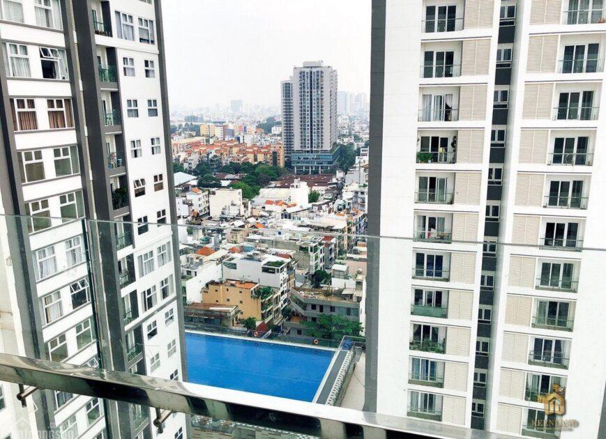 Tầm view toàn cảnh từ căn hộ Sông Đà Tower