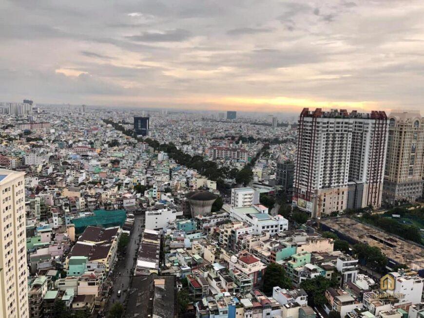 Tầm view từ căn hộ chung cư Nguyễn Kim