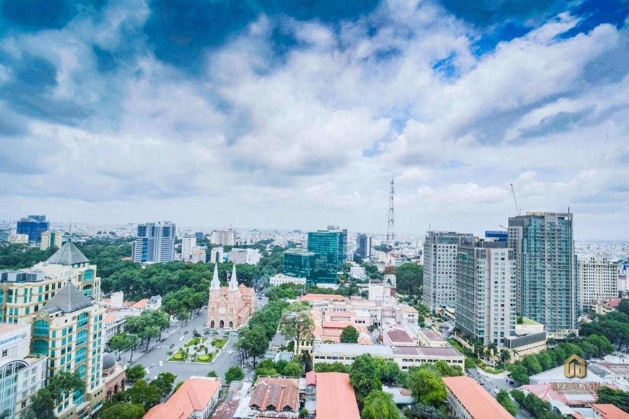 Tầm view từ vị trí căn hộ Vinhomes Đồng Khởi