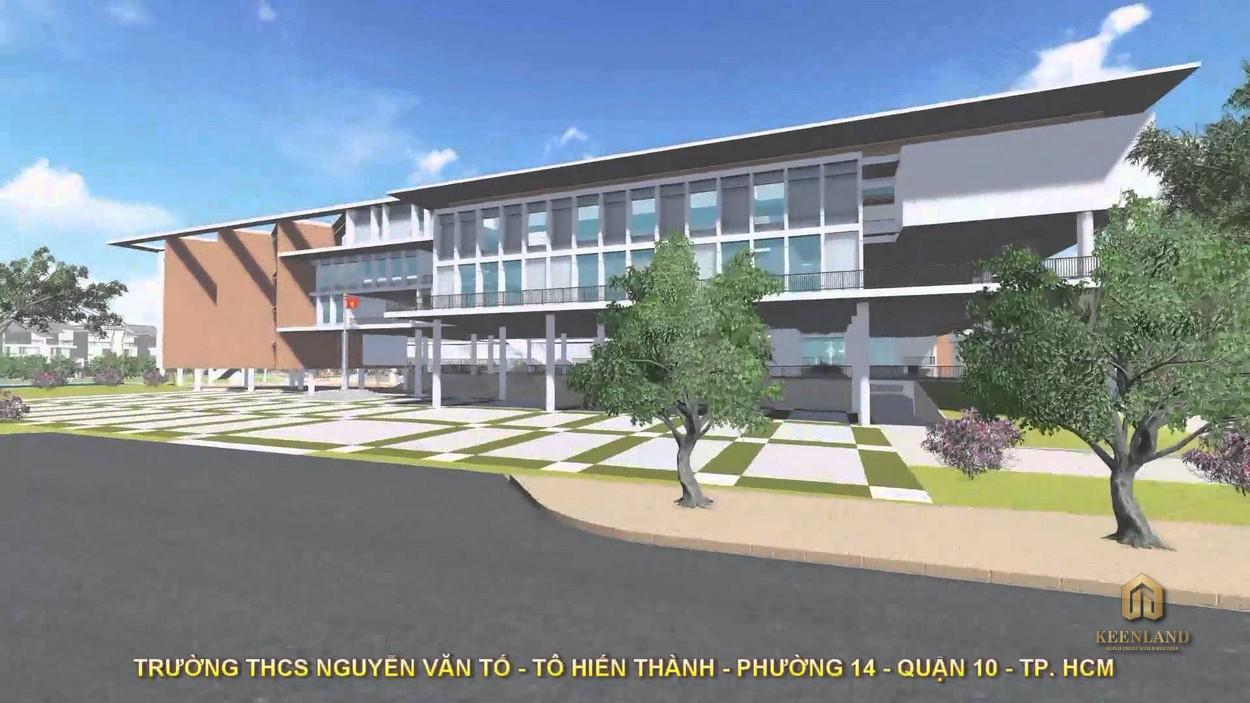 Trường THCS Nguyễn Văn Tố